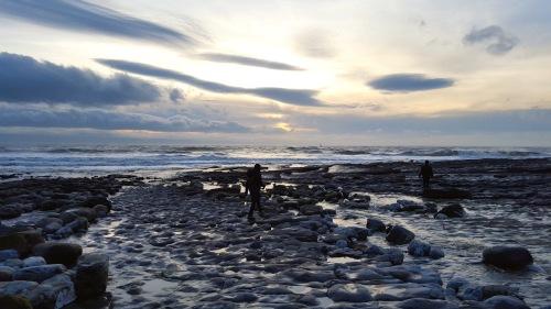 coastal view west