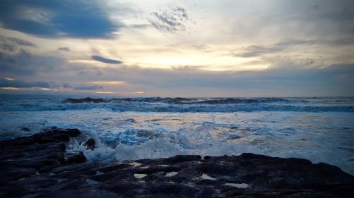 oceanwavesunset